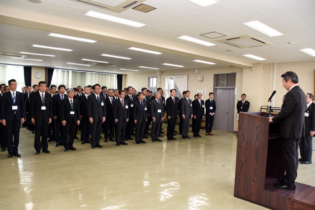 年度始めの市長訓示 | 北秋田市ホームページ 住民が主役のもりのまち